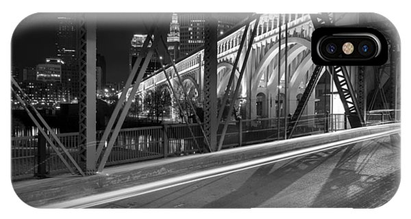 Cleveland Swing Bridge Skyline IPhone Case