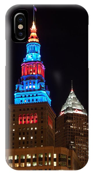 Cleveland Towers IPhone Case