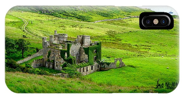 Clifden Castle IPhone Case
