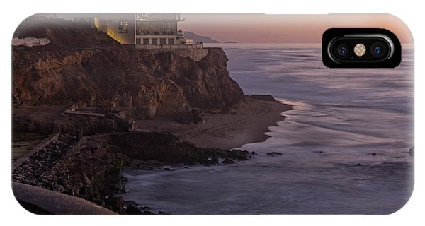 IPhone Case featuring the photograph Cliff House Sunset by Kate Brown