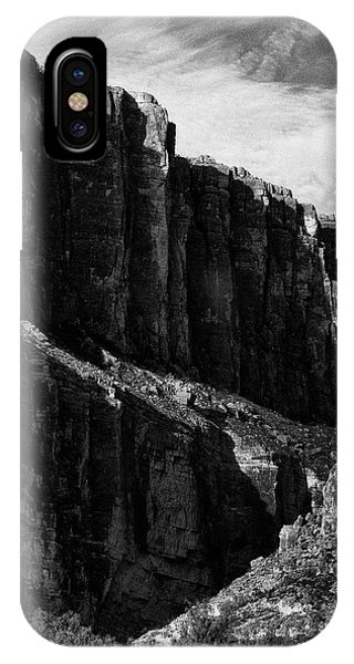 Cliffs In Contrast IPhone Case