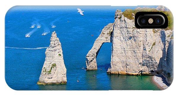 Cliffs Of Etretat France IPhone Case