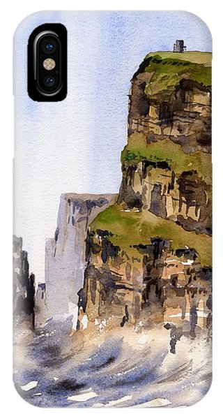 Clare   The Cliffs Of Moher   IPhone Case