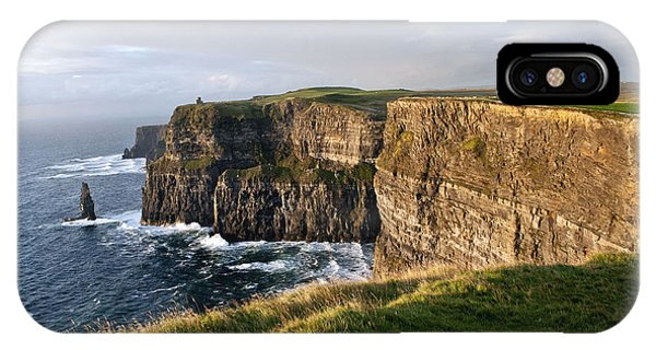 Cliffs Of Moher Evening Light IPhone Case