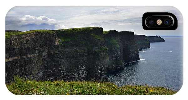 Cliffs Of Moher Looking South IPhone Case