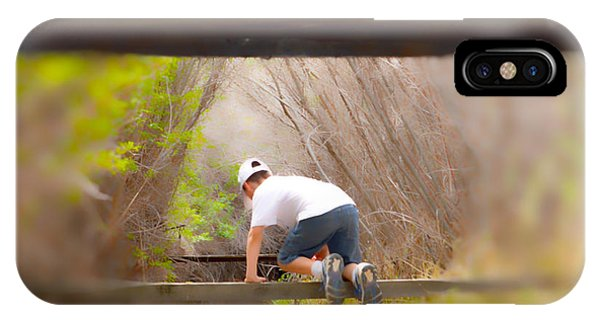 Climb On Over IPhone Case