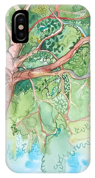 Climbing High Phone Case by Maya Simonson