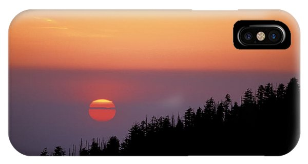 Clingman's Dome Sunset 02 IPhone Case