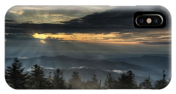 Clingman's Dome Sunset IPhone Case