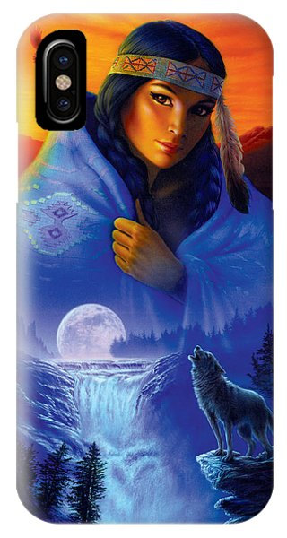 Andrew iPhone Case - Cloak Of Visions Portrait by MGL Meiklejohn Graphics Licensing