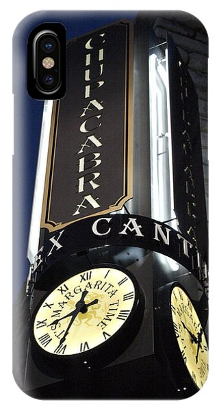 Clock Sign Chupacabra Cantina IPhone Case