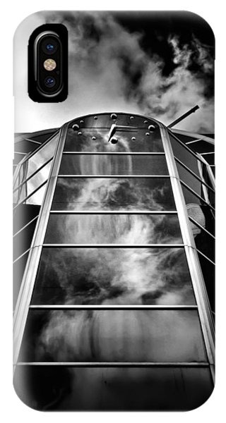 IPhone Case featuring the photograph Clock Tower No 1920 Yonge St Toronto Canada by Brian Carson