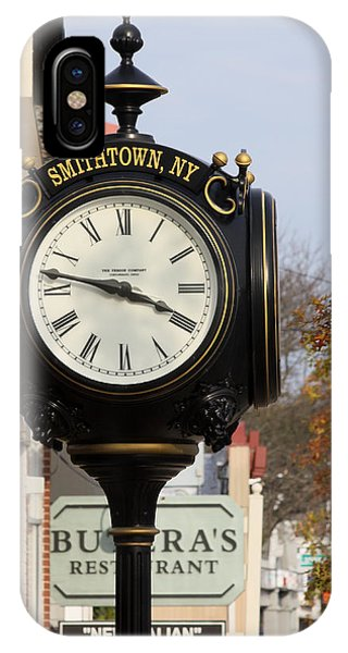 Clock Tower Smithtown New York IPhone Case