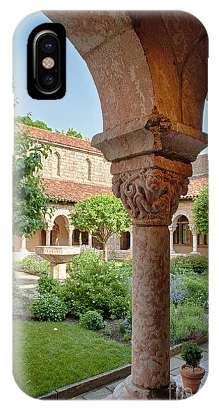 Cloisters Courtyard IPhone Case