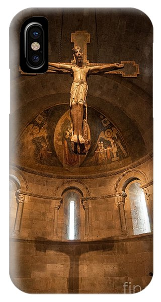 Cloisters Crucifixion IPhone Case