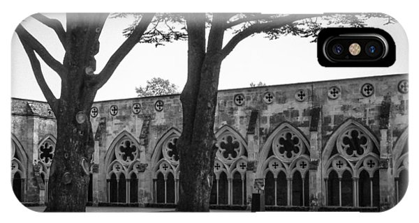 Cloisters Of Salisbury Phone Case by Ross Henton