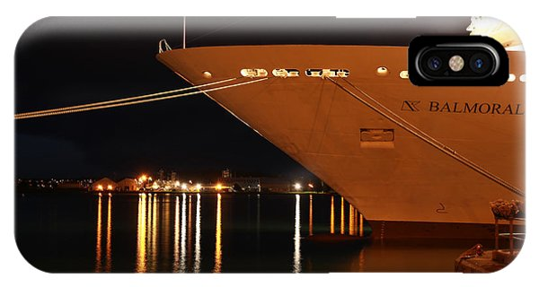 Close Up Cruise Liner At Cobh In Co. Cork Phone Case by Maeve O Connell