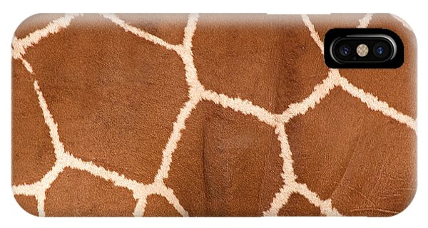 Close-up Of A Reticulated Giraffe IPhone Case