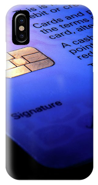 Close-up Of Part Of A Smart Card Phone Case by Sheila Terry/science Photo Library