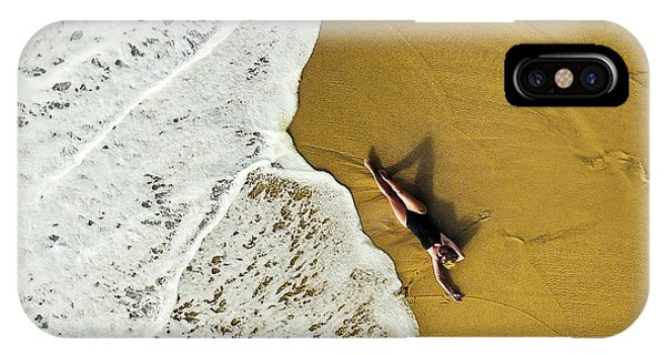 Aerial iPhone Case - Closer by Ambra