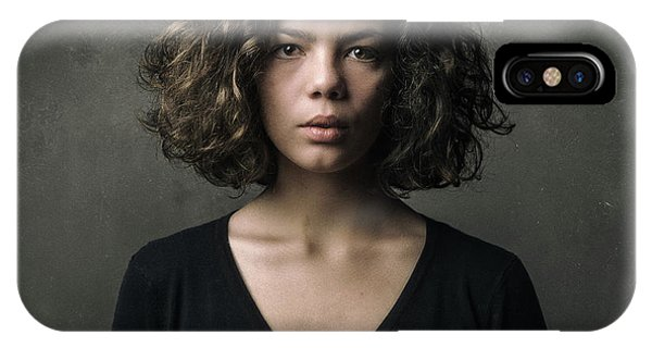Hair iPhone Case - Clothilde by Philippe Renaut