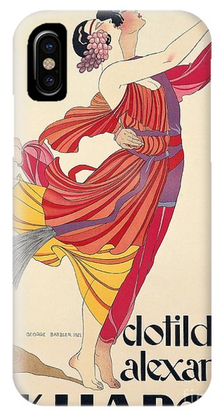 Dance iPhone Case - Clotilde And Alexandre Sakharoff by George Barbier