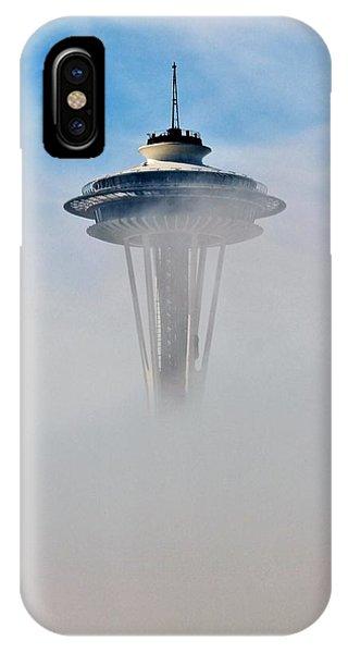 Cloud City Needle IPhone Case
