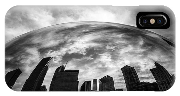 Skyline iPhone Case - Cloud Gate Chicago Bean by Paul Velgos