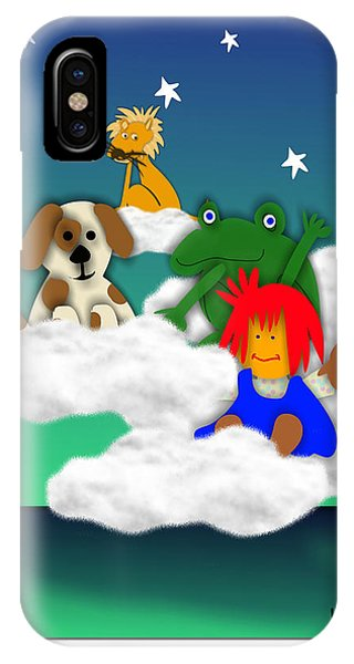 Cloud Kids Phone Case by Bob Winberry