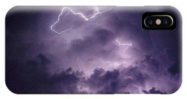 Cloud Lightning IPhone Case