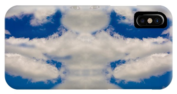 Cloud Man IPhone Case