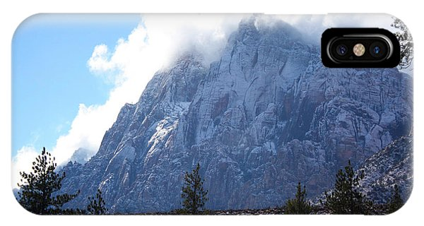 Cloud Mountain IPhone Case