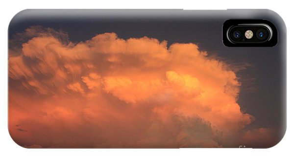 Cloud On Fire IPhone Case