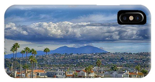 Cloud Over Saddleback Mountain IPhone Case