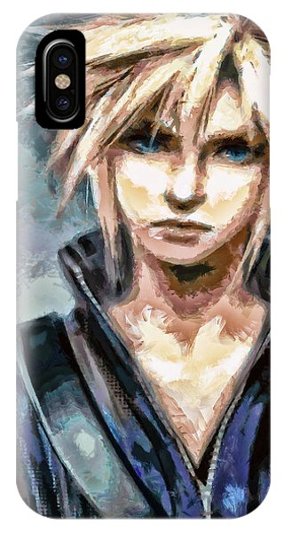 Cloud Strife IPhone Case