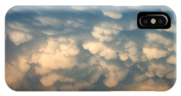 Cloud Texture IPhone Case