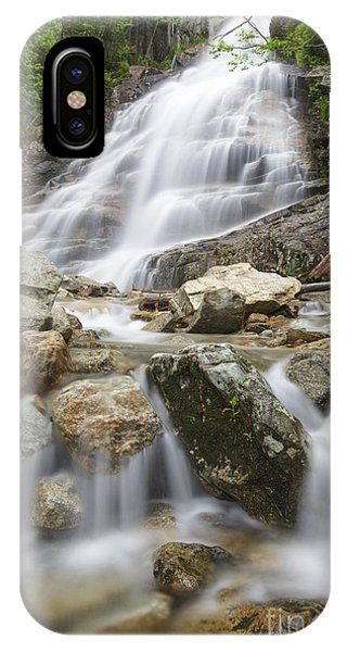 Cloudland Falls - Franconia Notch State Park New Hampshire Usa IPhone Case
