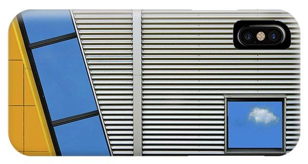 Steel iPhone Case - Cloudlet by Henk Van Maastricht