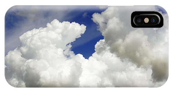 Clouds Above Me IPhone Case