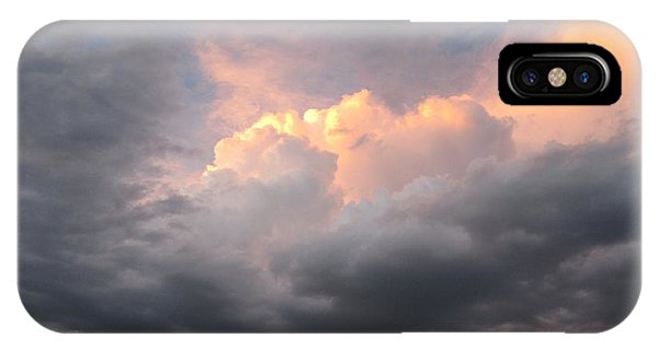 Clouds And God IPhone Case