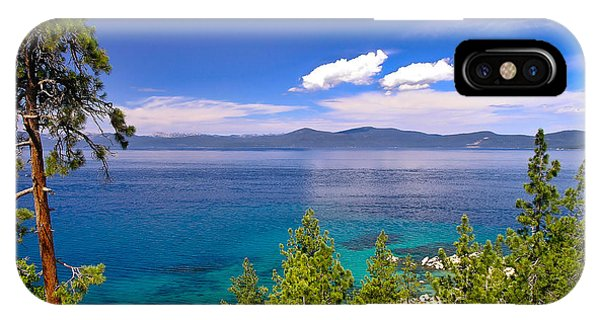 Clouds And Silence - Lake Tahoe IPhone Case