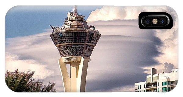 Clouds Make Vegas IPhone Case