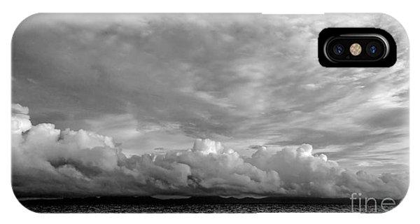 Clouds Over Alabat Island IPhone Case