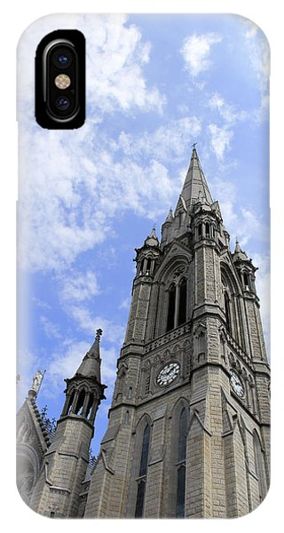 Clouds Over Cathedral IPhone Case