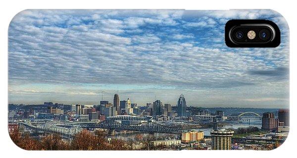 Clouds Over Cincinnati IPhone Case