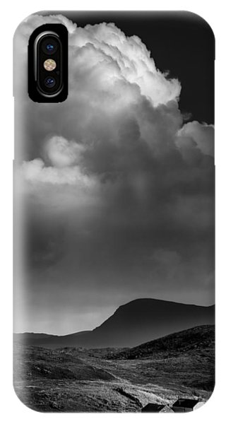Beautiful Scotland iPhone Case - Clouds Over Clashnessie by Dave Bowman