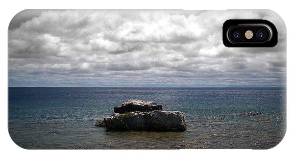 Clouds Over Georgian Bay - F2g IPhone Case