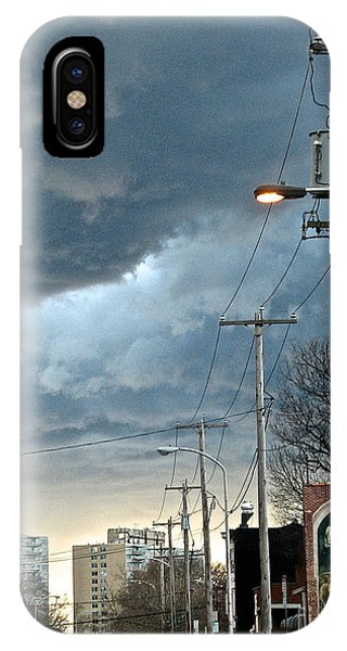 Clouds Over Philadelphia IPhone Case