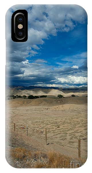 Clouds Over The Adobes IPhone Case
