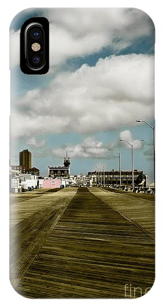 Clouds Over The Boardwalk IPhone Case